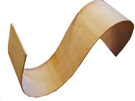 Flexibel plywood
